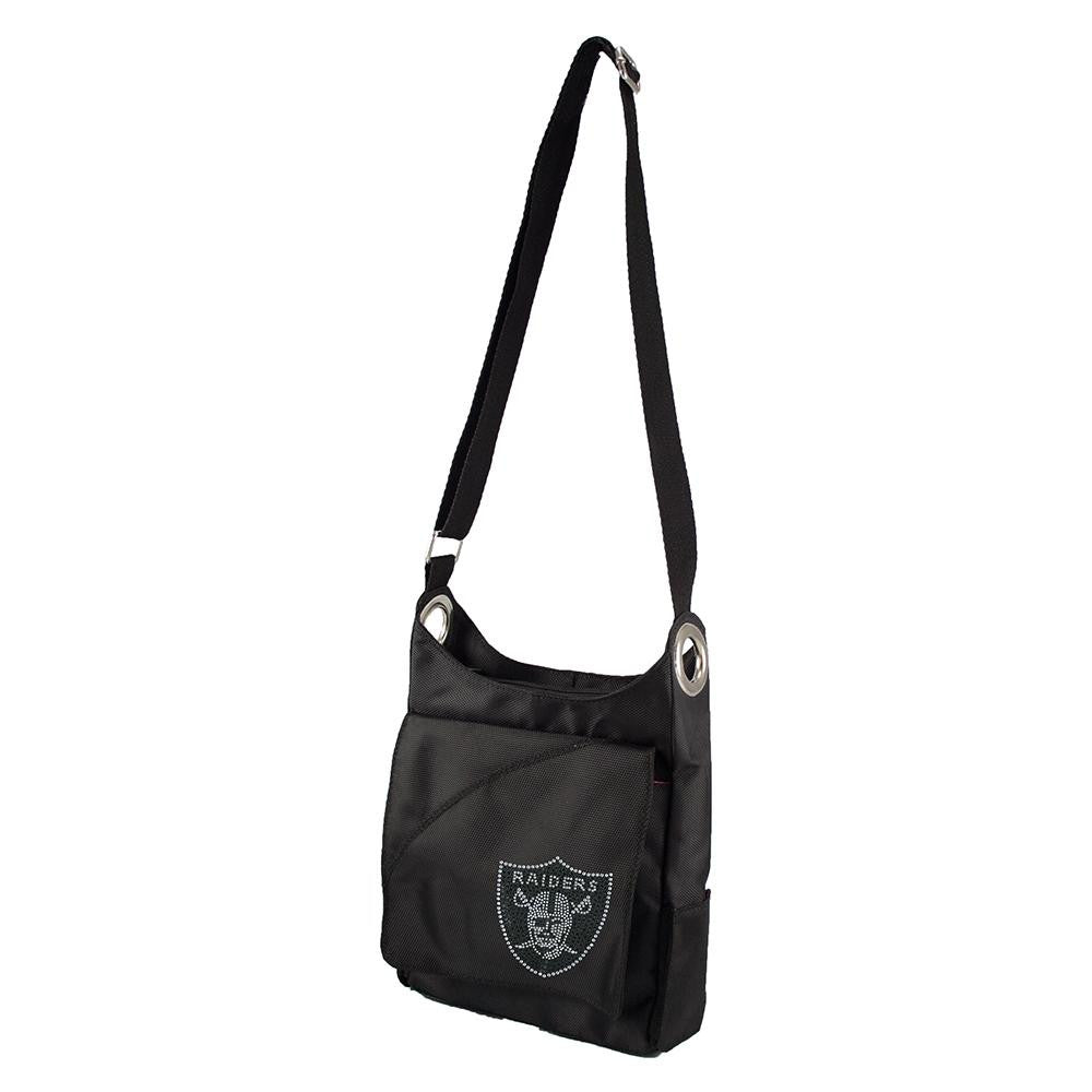 Oakland Raiders NFL Sport Noir Sheen Cross-body