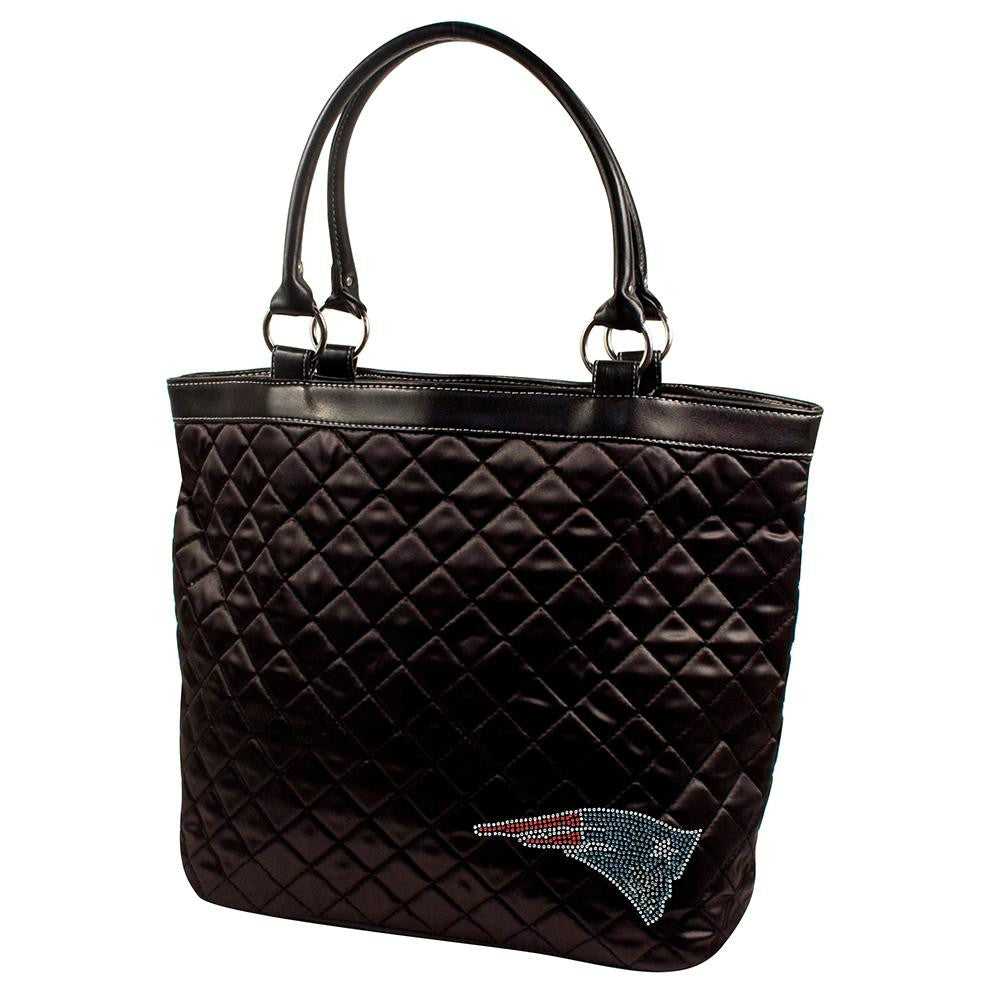 New England Patriots NFL Sport Noir Quilted Tote