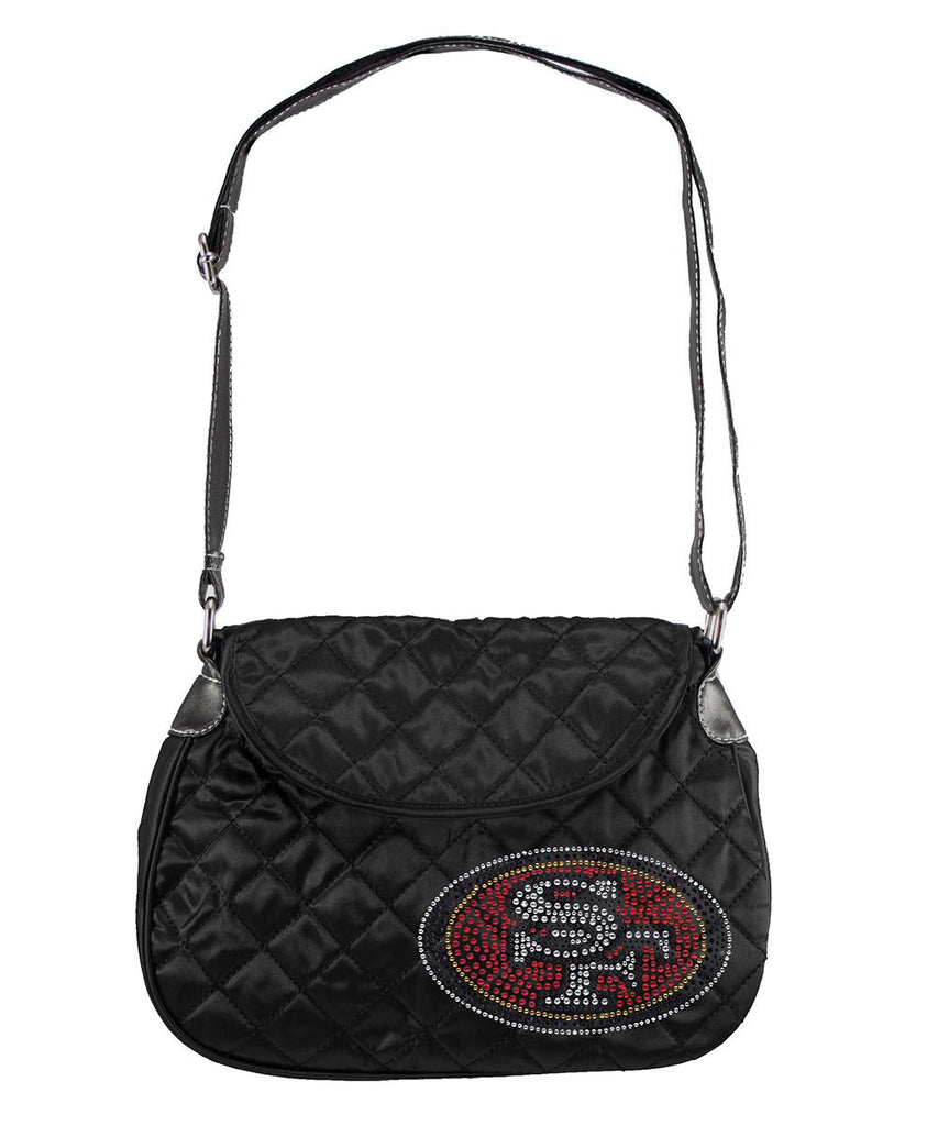 San Francisco 49ers NFL Sport Noir Quilted Saddlebag