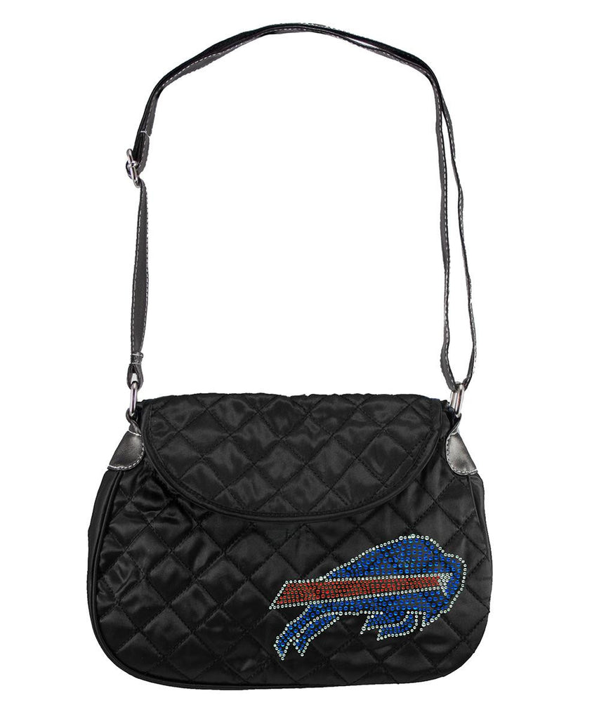 Buffalo Bills NFL Sport Noir Quilted Saddlebag