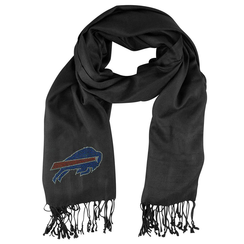 Buffalo Bills NFL Black Pashi Fan Scarf