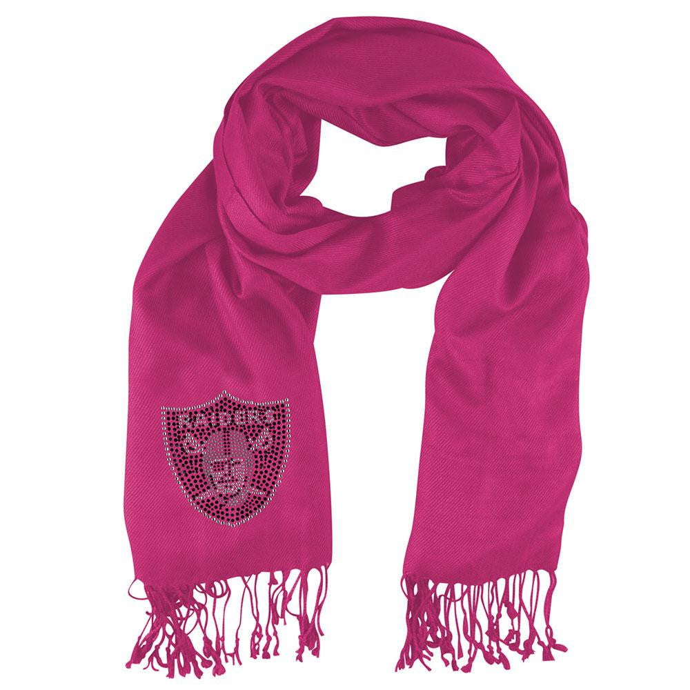 Oakland Raiders NFL Pashi Fan Scarf (Pink)