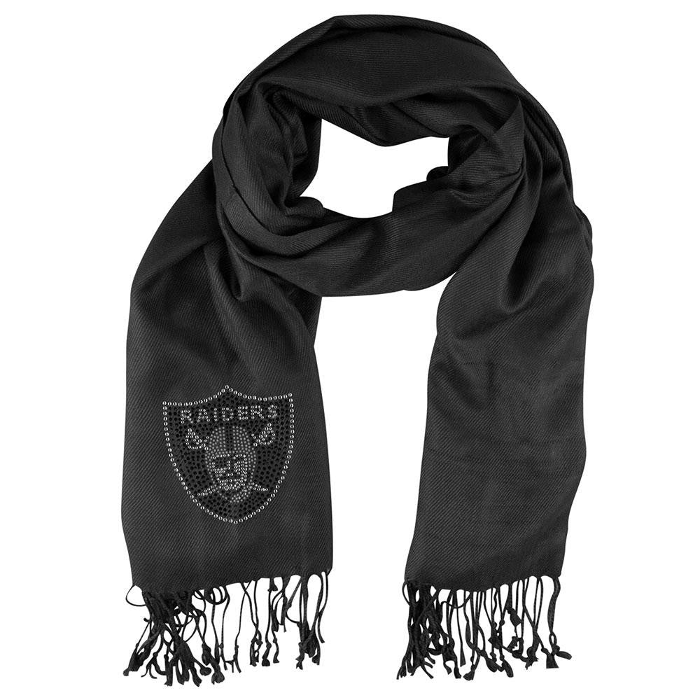 Oakland Raiders NFL Pashi Fan Scarf (Black)