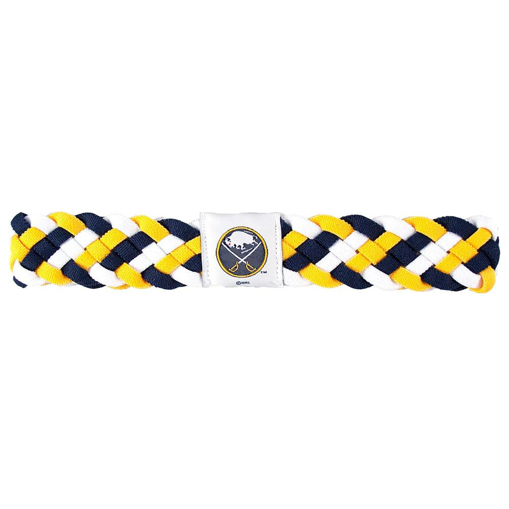 Buffalo Sabres NHL Braided Head Band 6 Braid