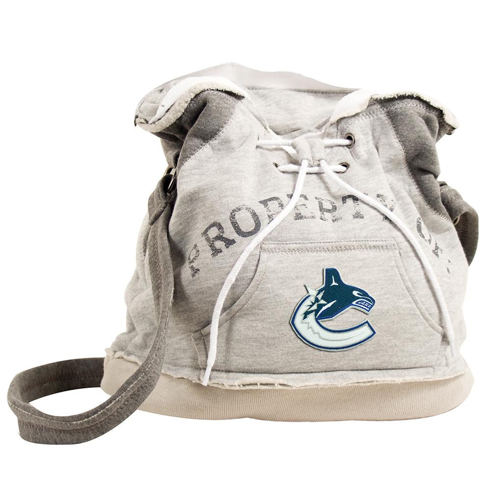 Vancouver Canucks NHL Property Of Hoodie Duffel