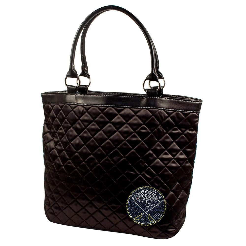 Buffalo Sabres NHL Sport Noir Quilted Tote