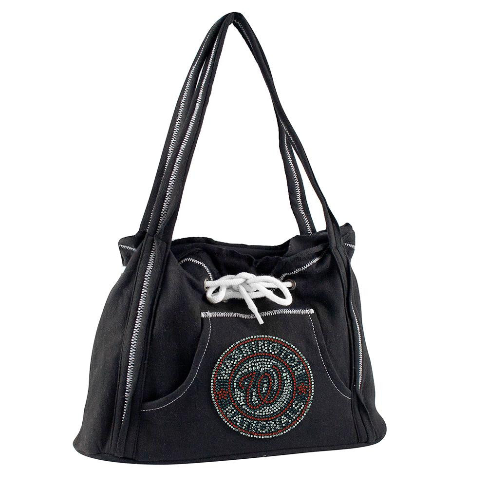 Washington Nationals MLB Sport Noir Hoodie Purse