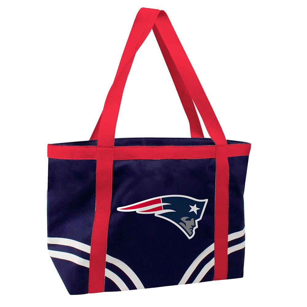 New England Patriots NFL Canvas Tailgate Tote