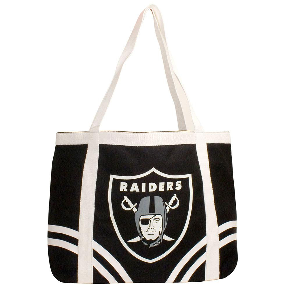 Oakland Raiders NFL Canvas Tailgate Tote