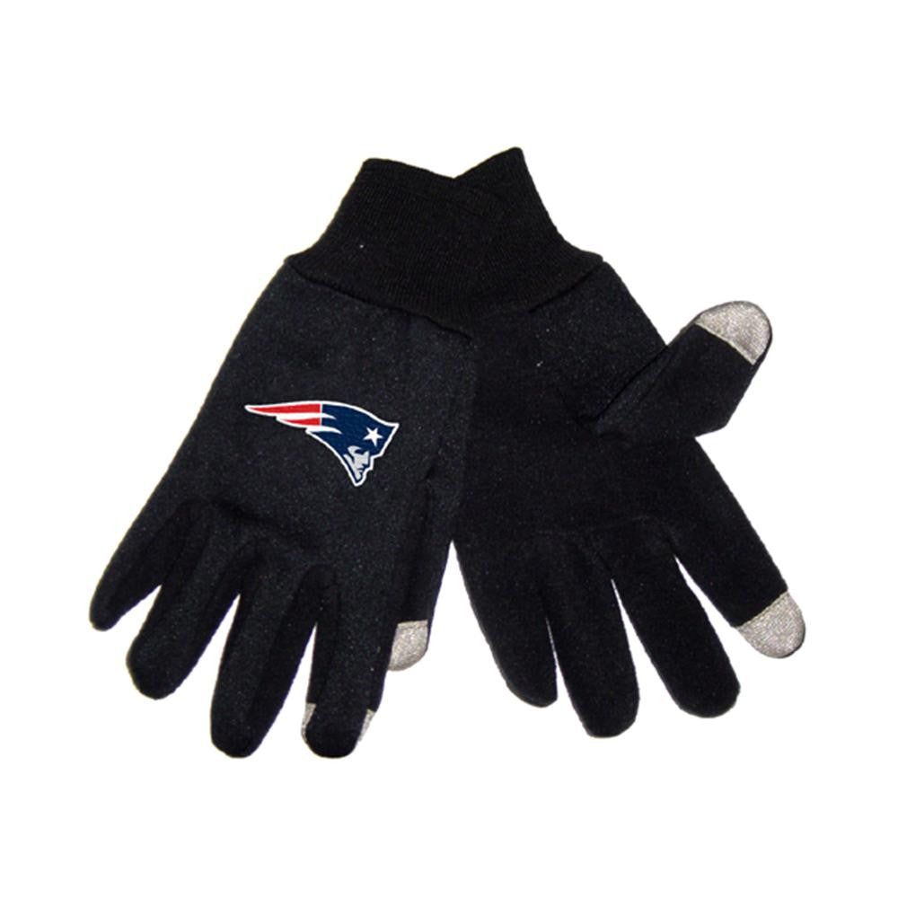 New England Patriots NFL Technology Gloves (Pair) xyz