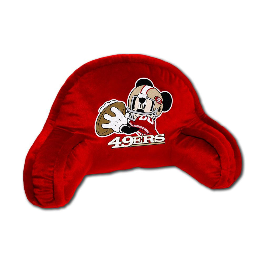 San Francisco 49ers NFL Mickey Youth Bed Rest (16in x 10in)