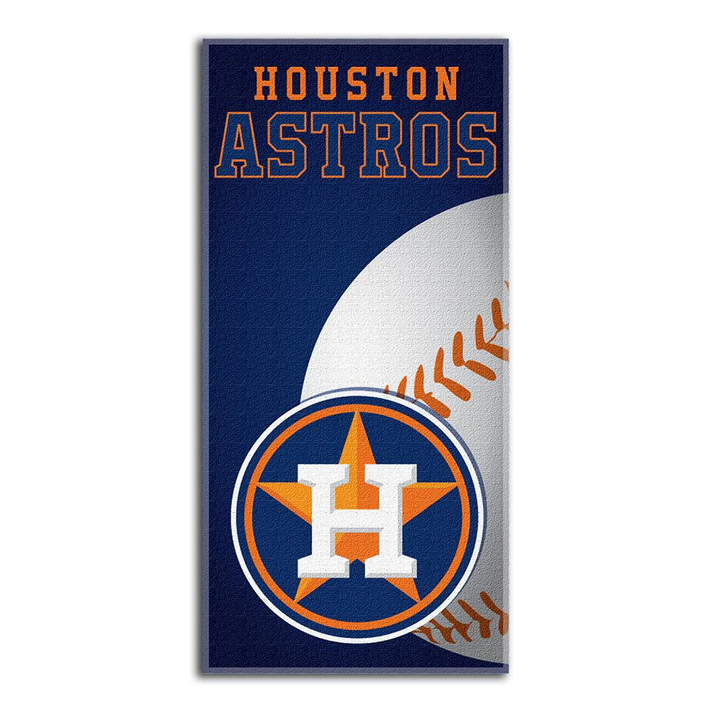 Houston Astros MLB Fiber Reactive Beach Towel (Emblem Series) (28in x 58in)