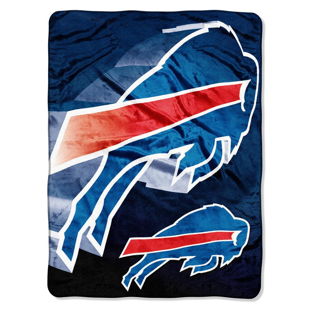 Buffalo Bills NFL Micro Raschel Blanket (Bevel Series) (80x60)