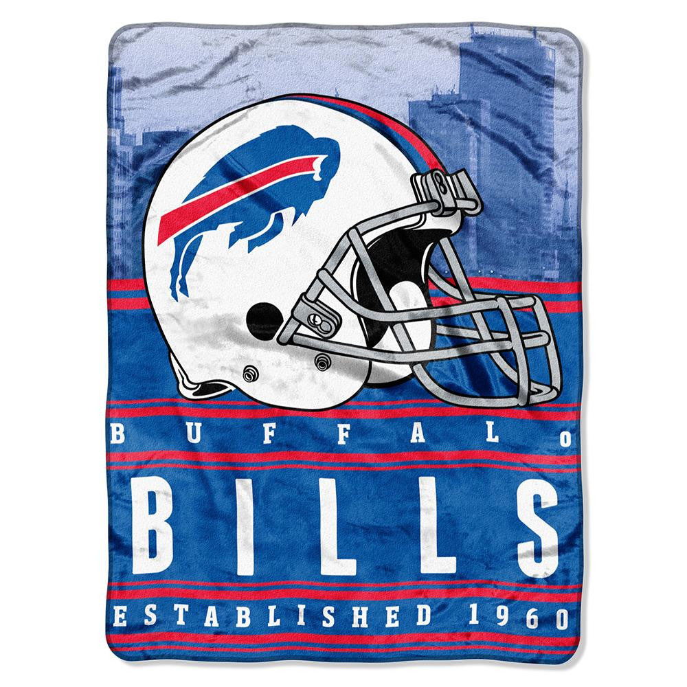 Buffalo Bills NFL Silk Touch Throw (Stacked Series) (60inx80in)