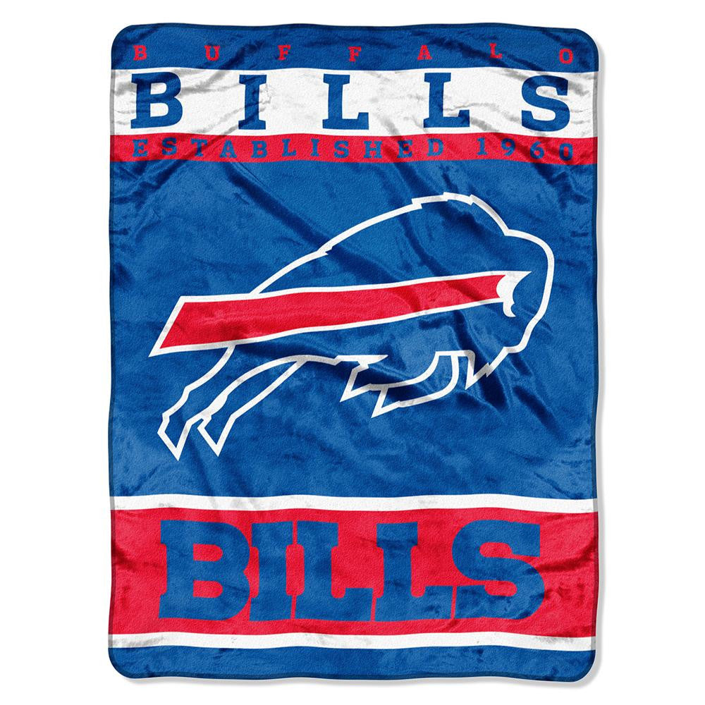 Buffalo Bills NFL Royal Plush Raschel (12th Man Series) (60in x 80in)