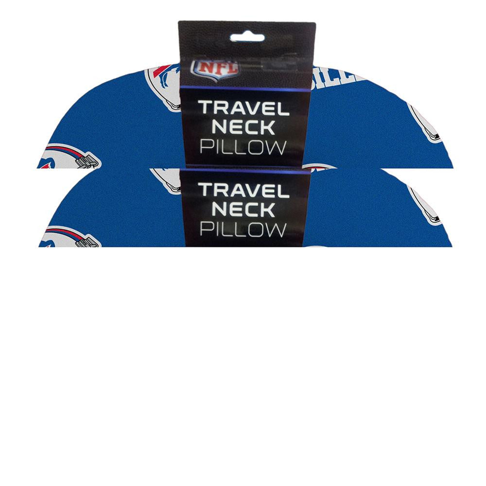 Buffalo Bills NFL Beadded Spandex Neck Pillow (12in x 13in x 5in)