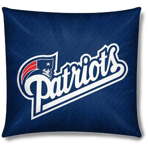 New England Patriots NFL Toss Pillow (18x18)