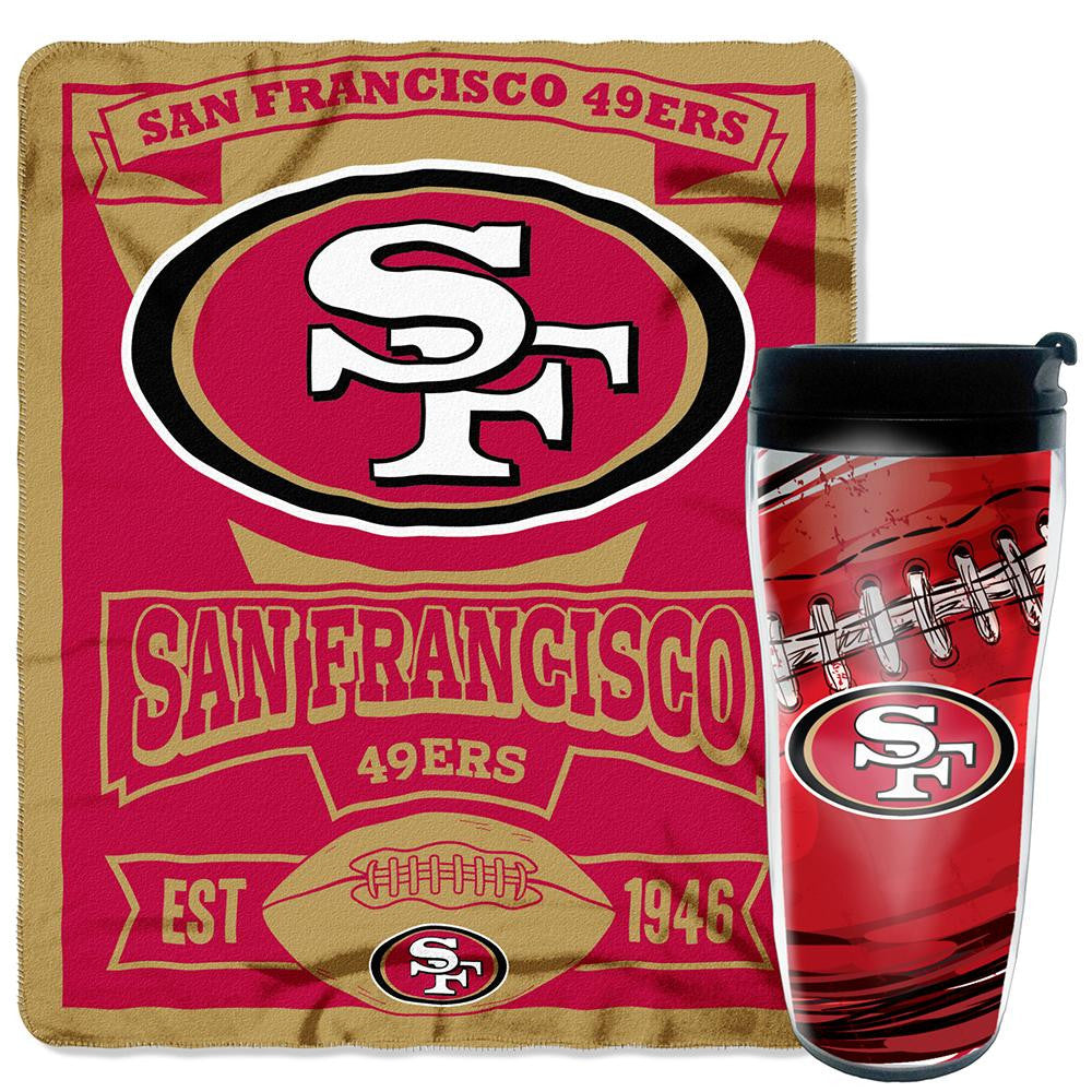 San Francisco 49ers NFL Mug 'N Snug Set