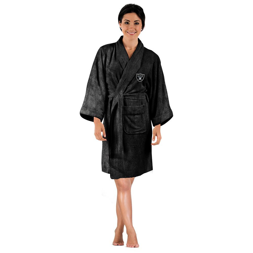 Oakland Raiders NFL Silk Touch Women's Bath Robe xyz