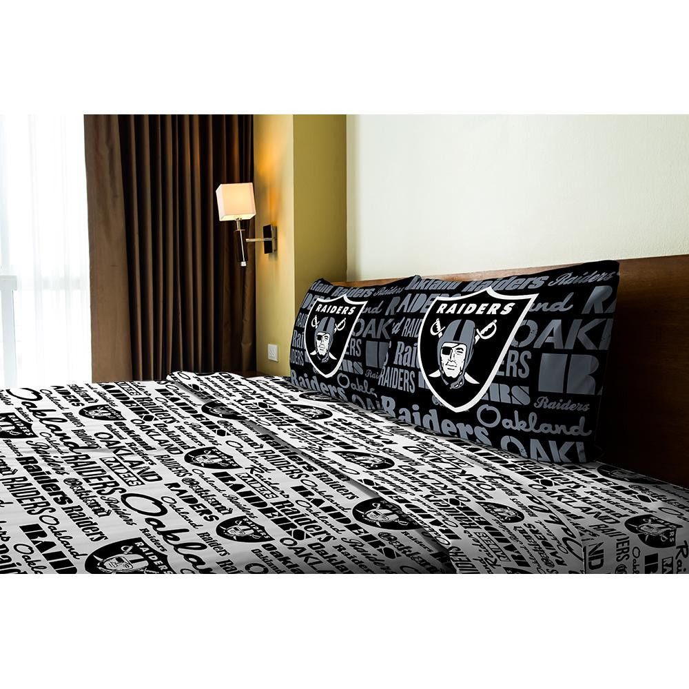 Oakland Raiders NFL Full Sheet Set (Anthem Series)