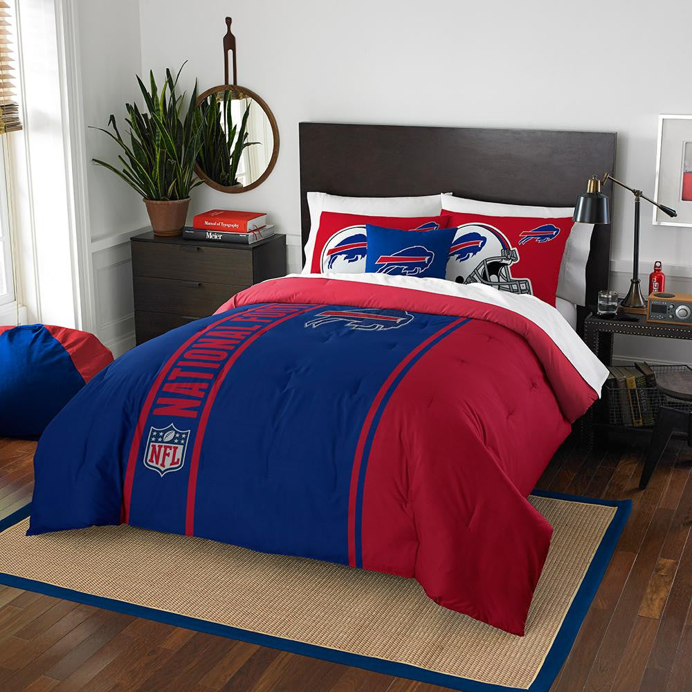 Buffalo Bills NFL Full Comforter Set (Soft & Cozy) (76 x 86)