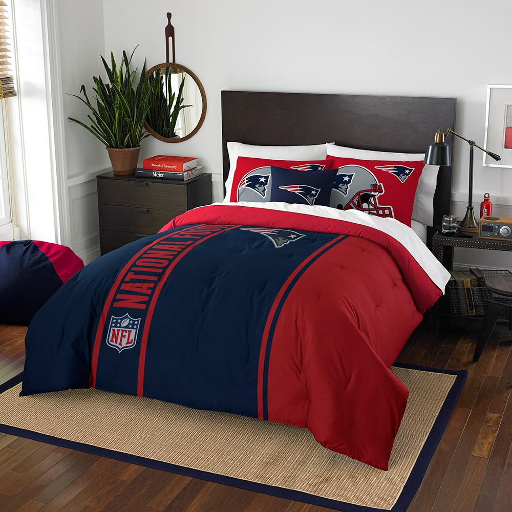New England Patriots NFL Full Comforter Set (Soft & Cozy) (76 x 86) xyz