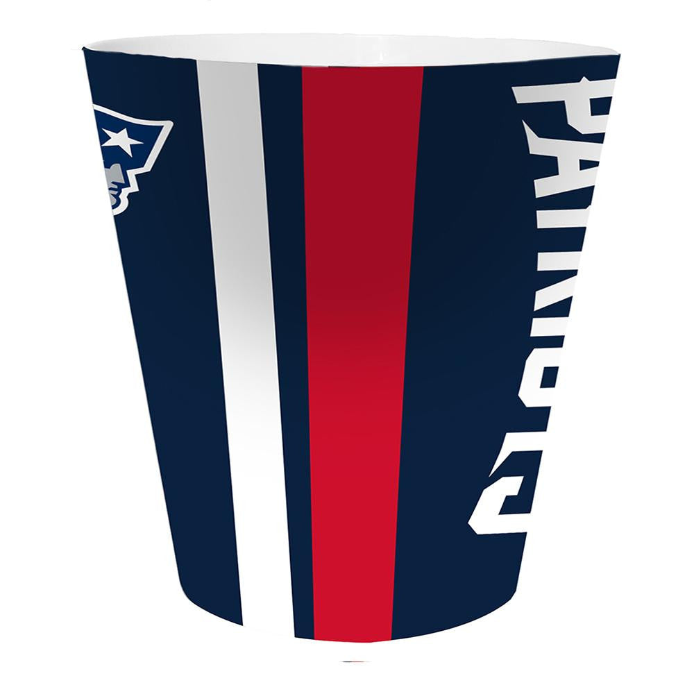 New England Patriots NFL 10 Bath Waste Basket xyz