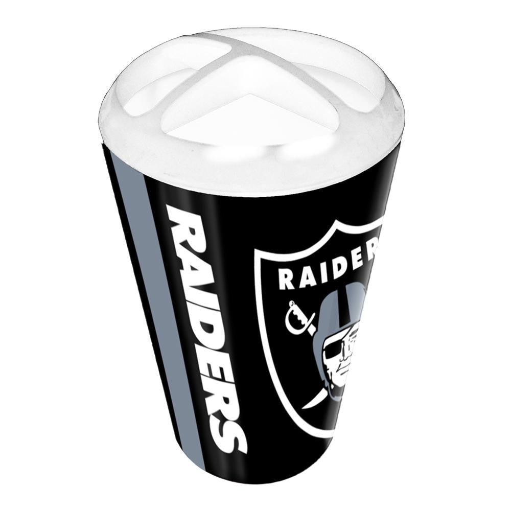 Oakland Raiders NFL Polymer Toothbrush Holder