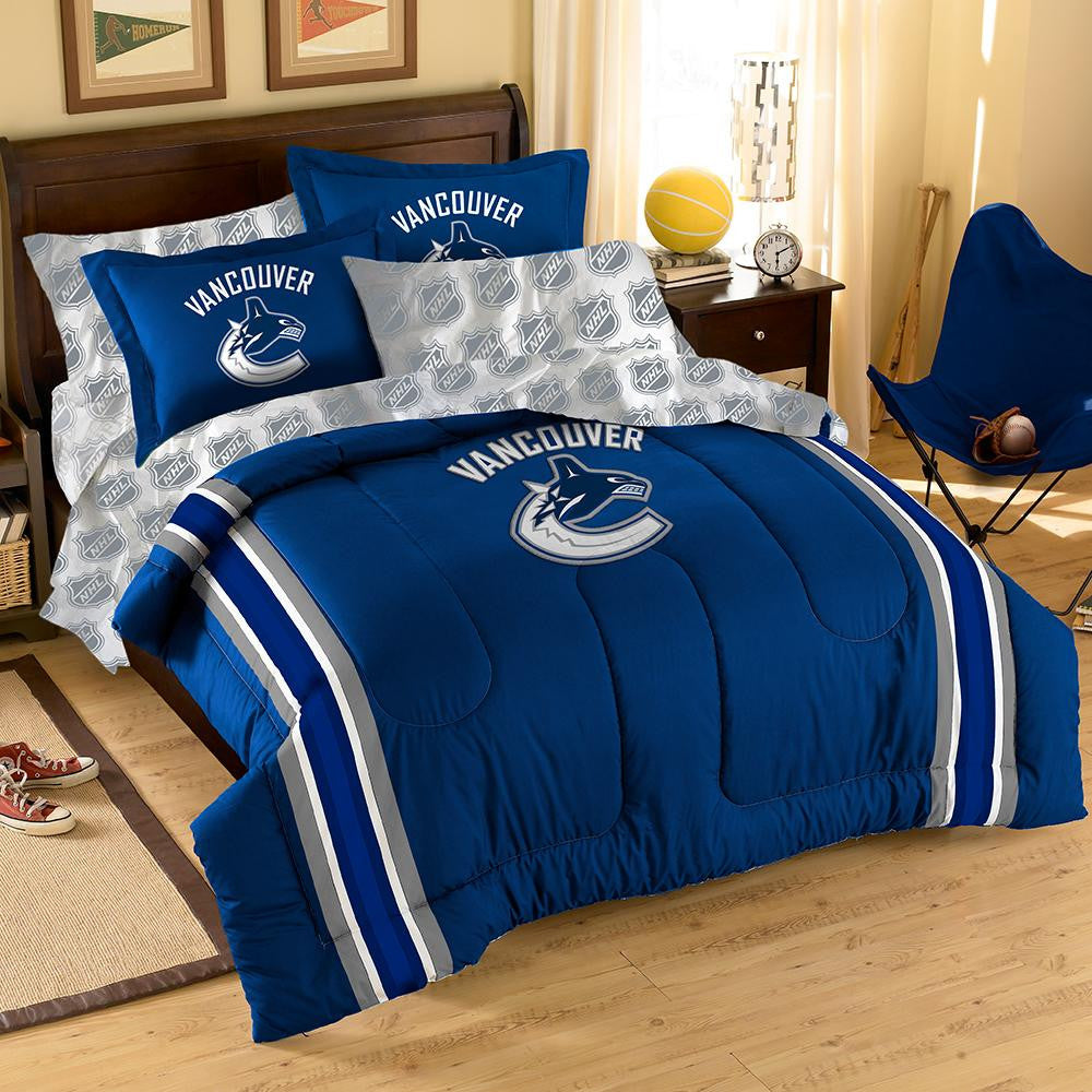 Vancouver Canucks NHL Bed in a Bag (Full)