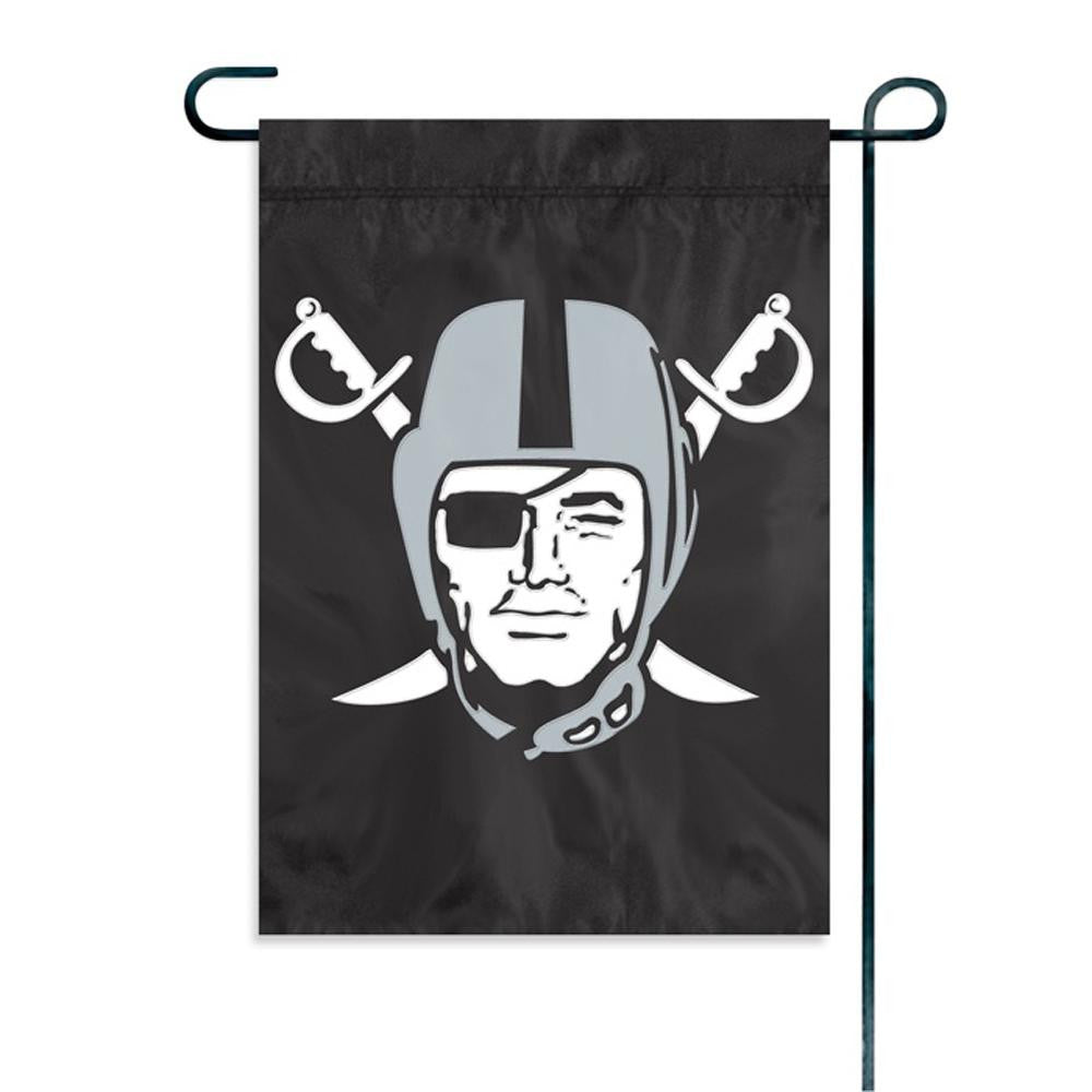 Oakland Raiders NFL Mini Garden or Window Flag (15x10.5)