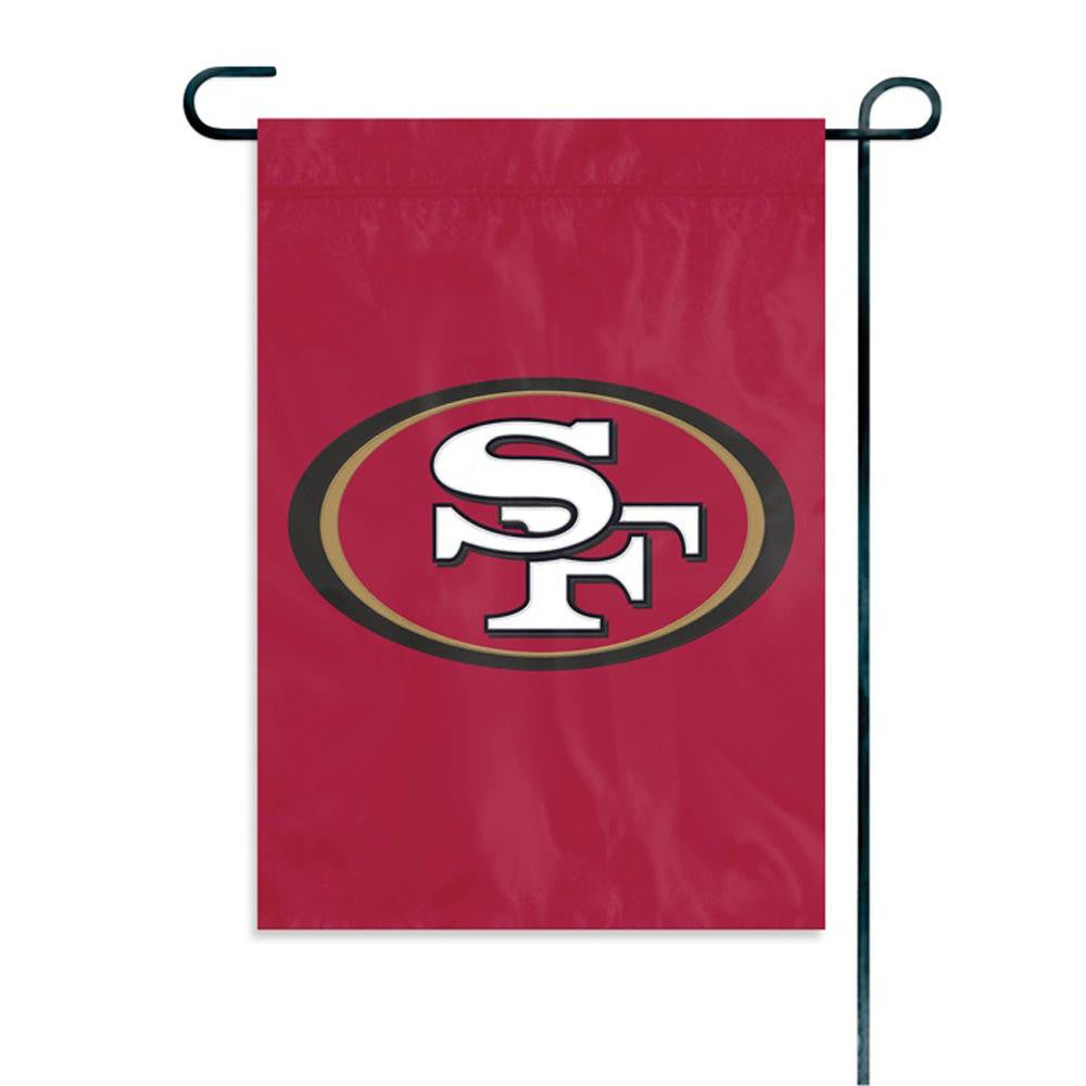 San Francisco 49ers NFL Mini Garden or Window Flag (15x10.5)