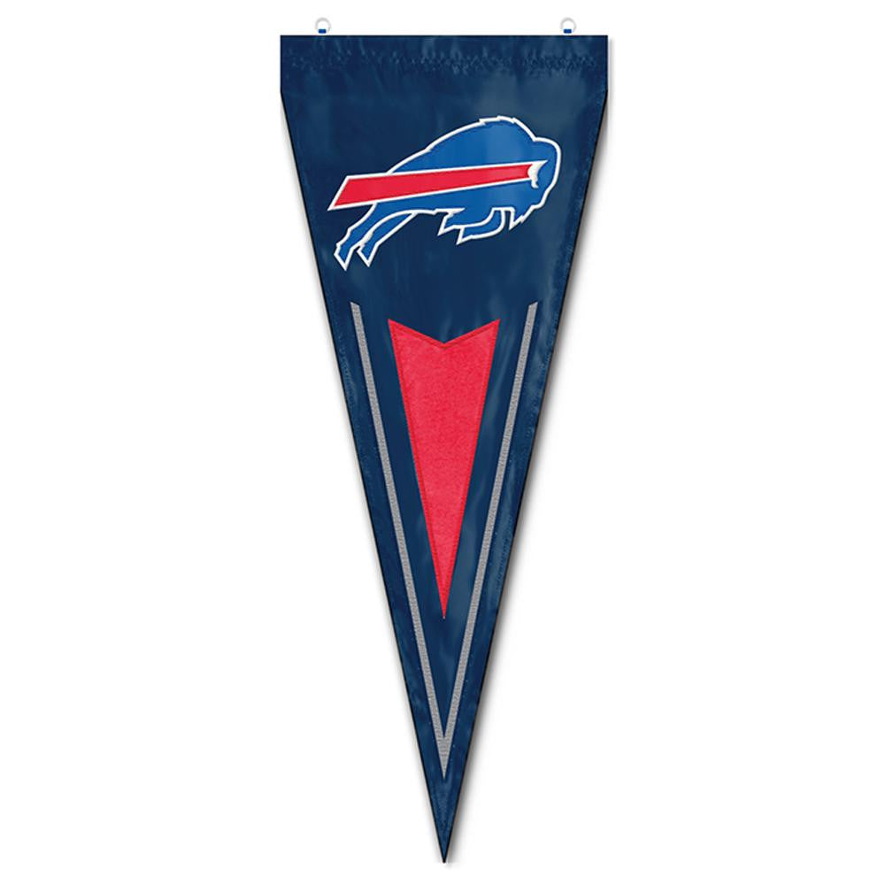 Buffalo Bills NFL Applique & Embroidered Yard Pennant (34x14)
