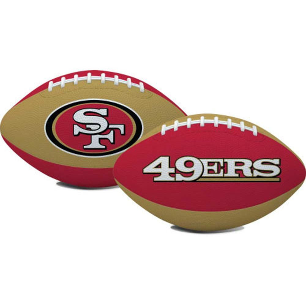 San Francisco 49ers NFL Youth Size Team Color Football (Hail Mary)