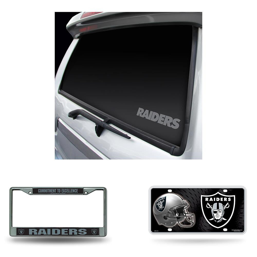 Oakland Raiders NFL 3 Piece Auto Detail Pack
