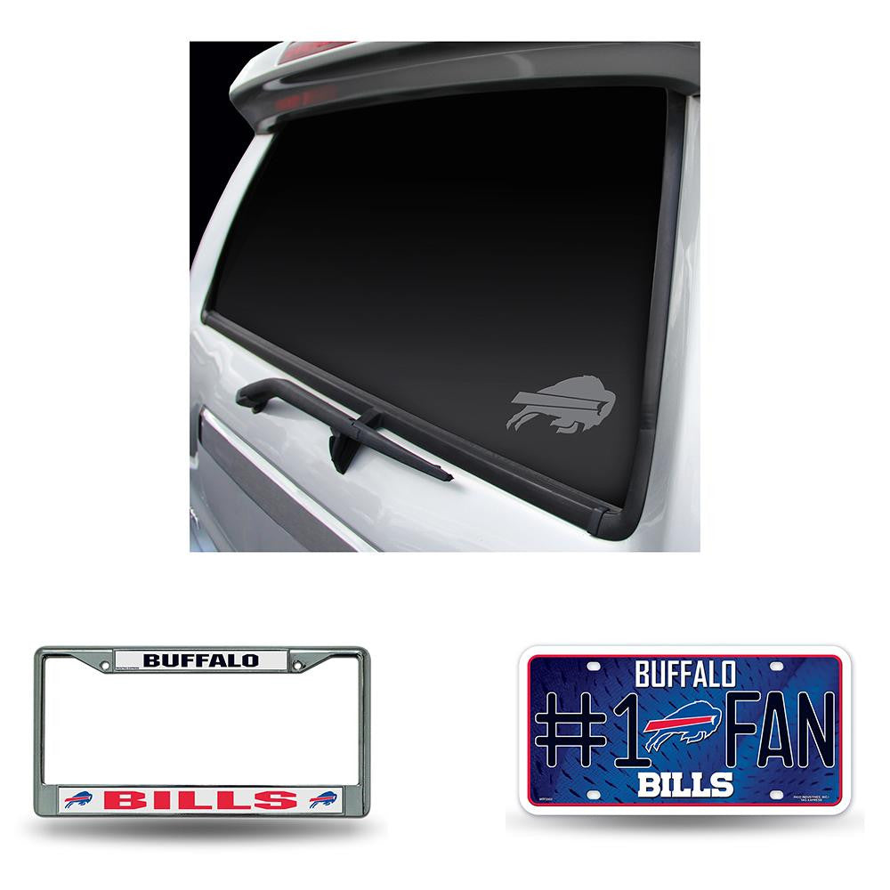 Buffalo Bills NFL 3 Piece Auto Detail Pack