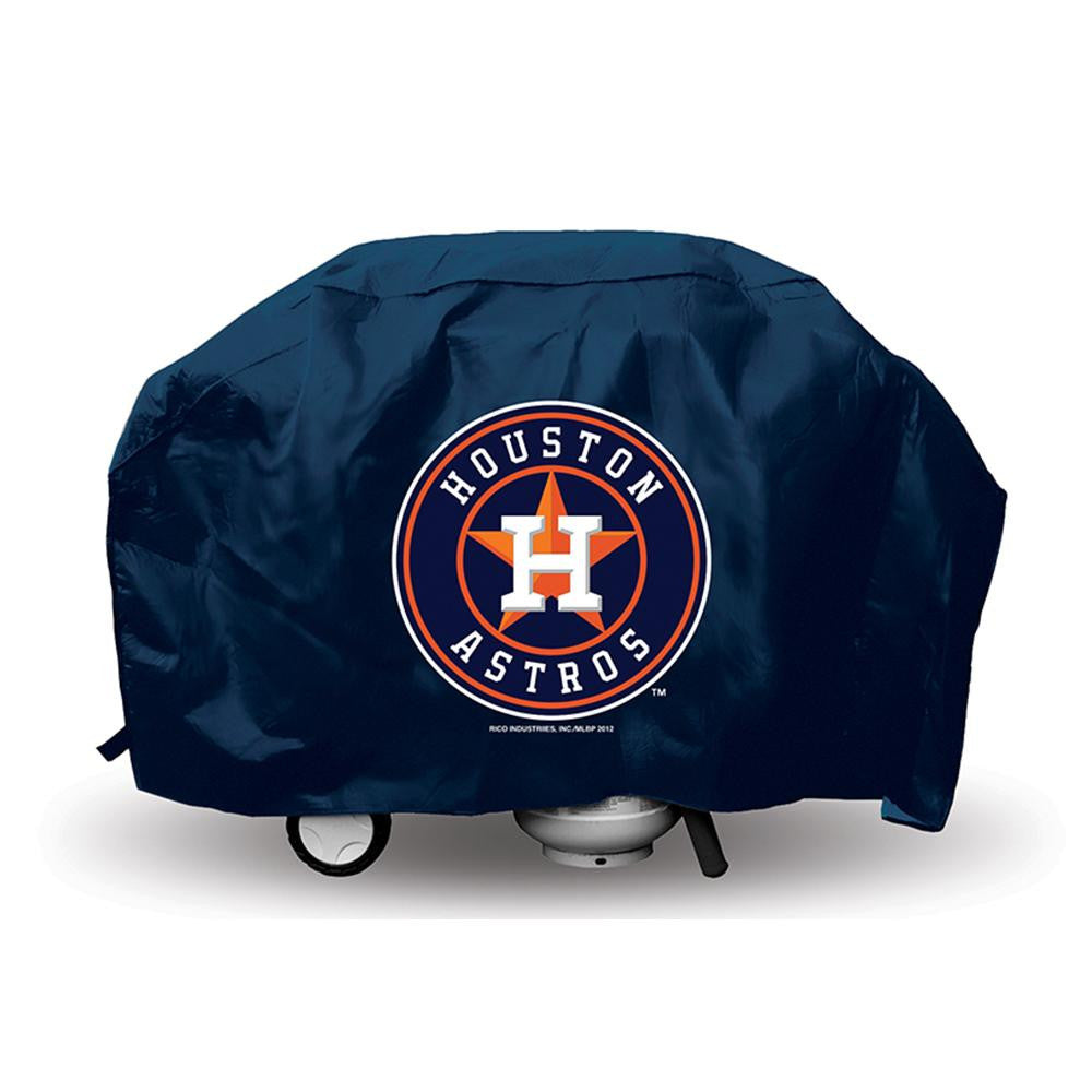 Houston Astros MLB Economy Barbeque Grill Cover