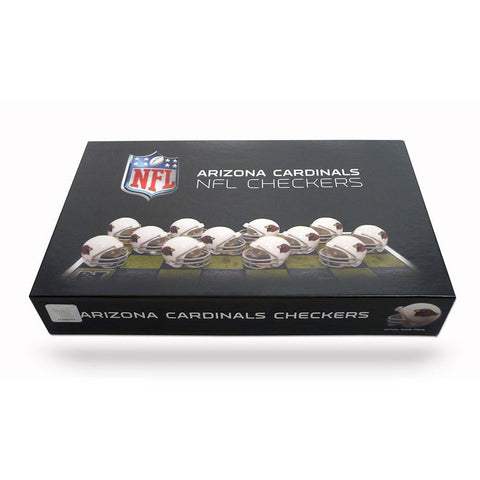 Arizona Cardinals NFL Checkers Set xyz