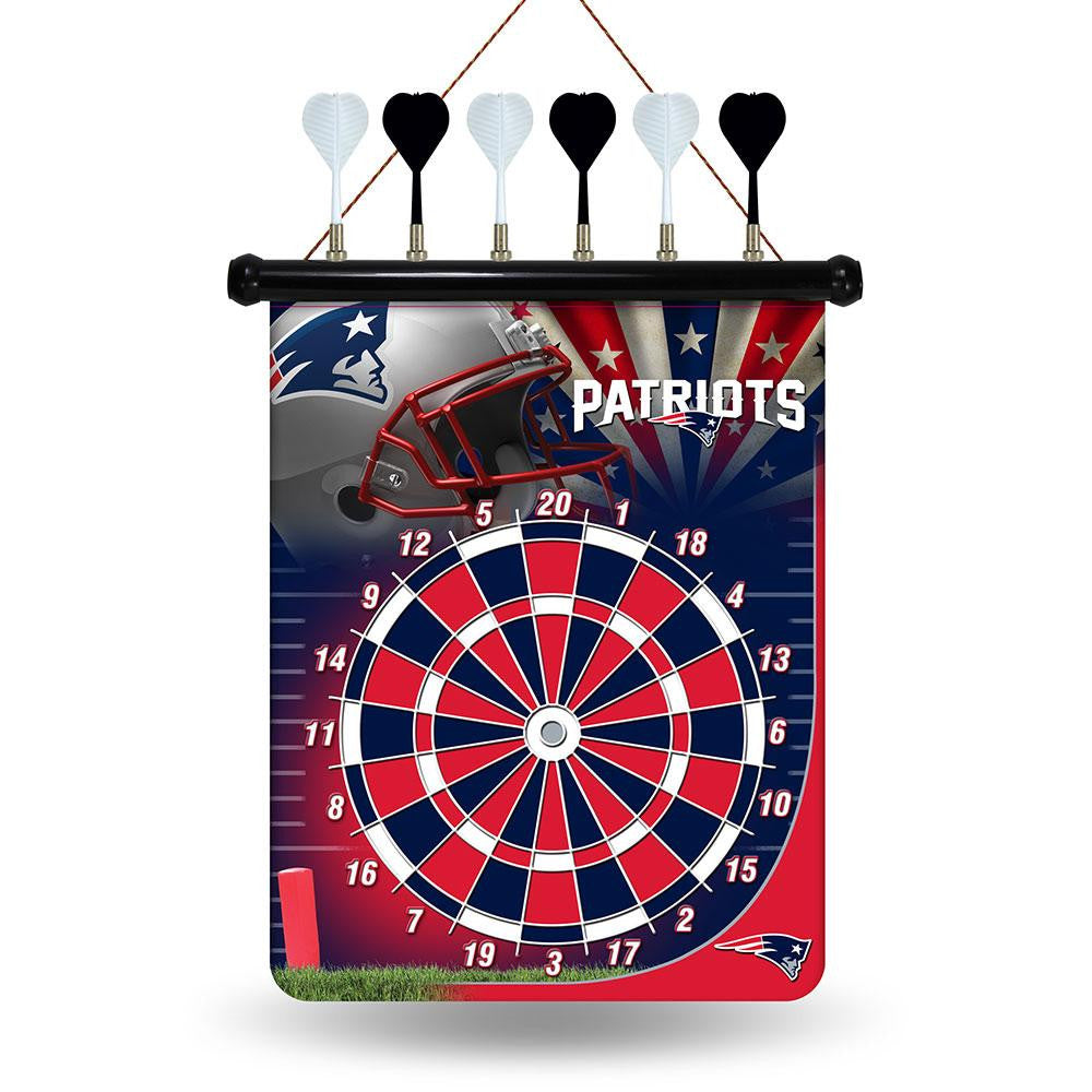 New England Patriots NFL Magnetic Dart Board xyz