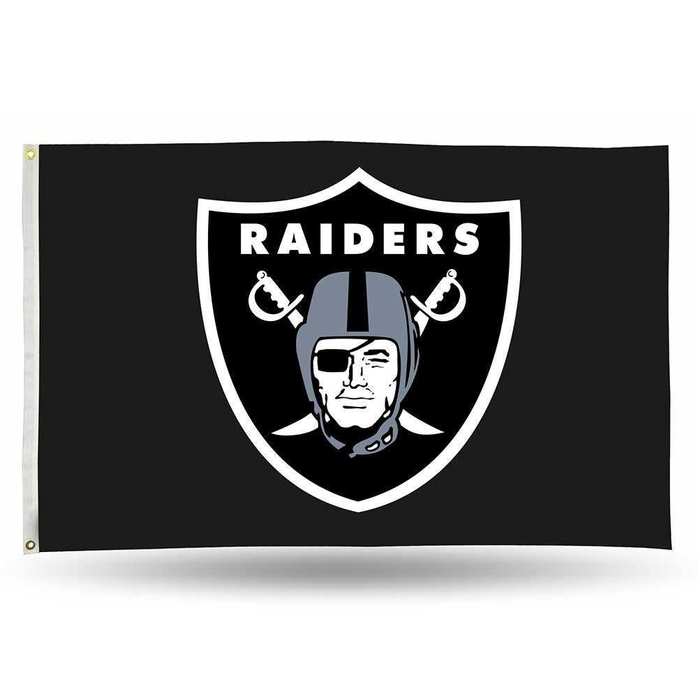 Oakland Raiders NFL 3ft x 5ft Banner Flag