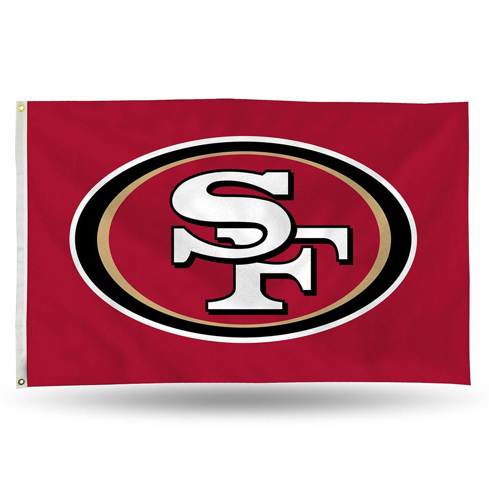 San Francisco 49ers NFL 3ft x 5ft Banner Flag