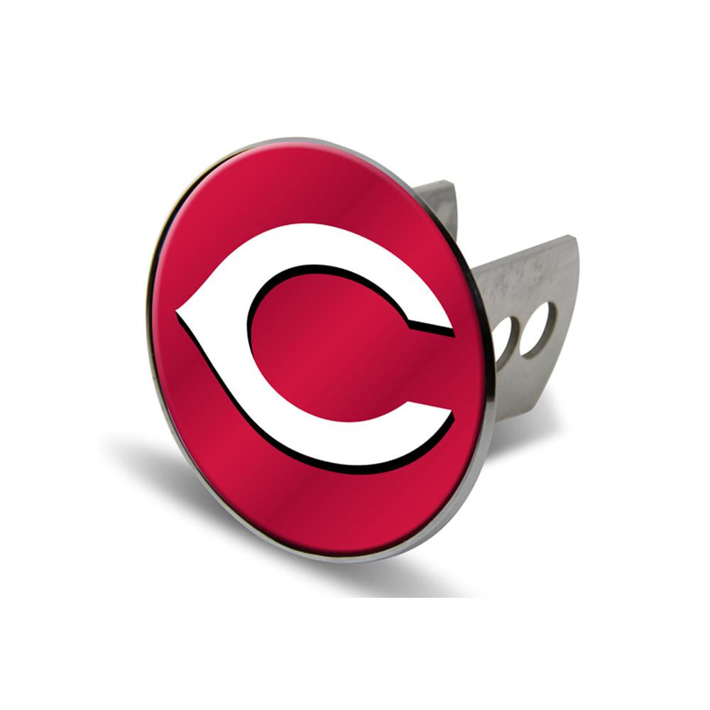 Cincinnati Reds MLB Laser Cut Hitch Cover