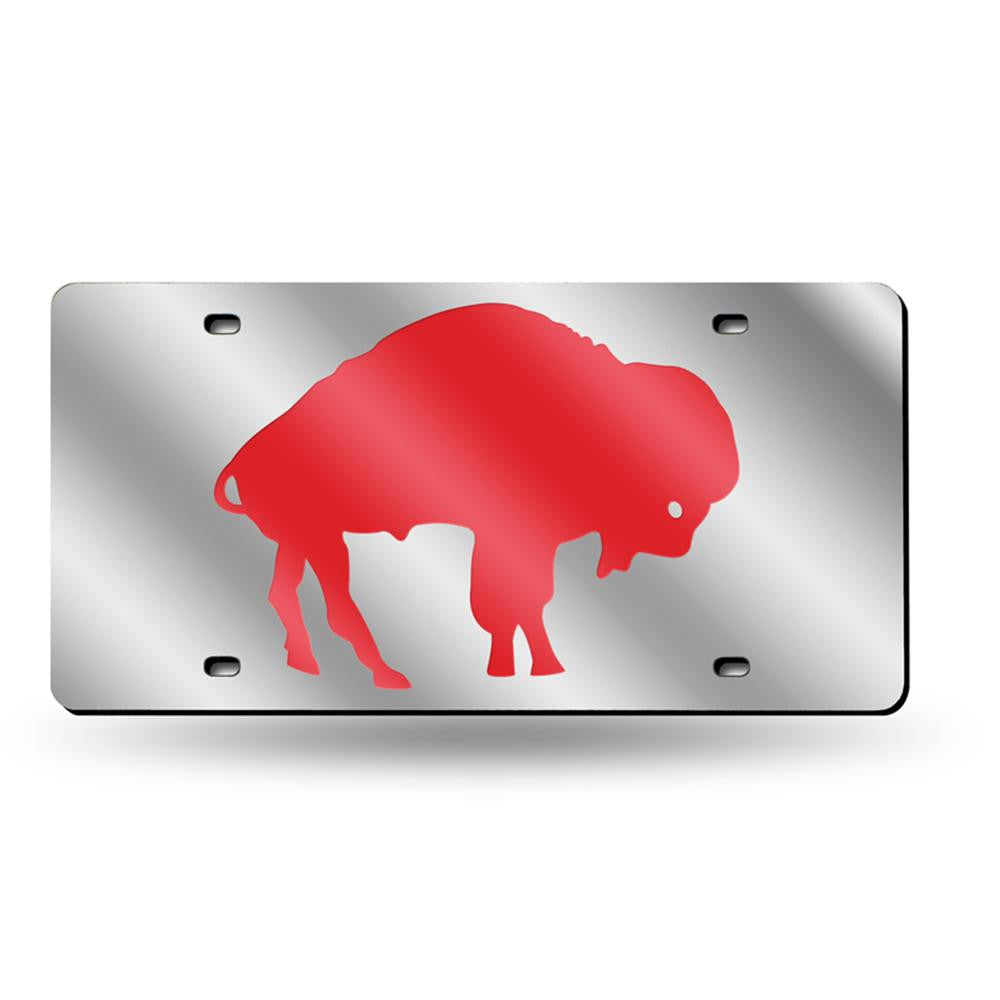 Buffalo Bills NFL Laser Cut License Plate Tag (Throwback)