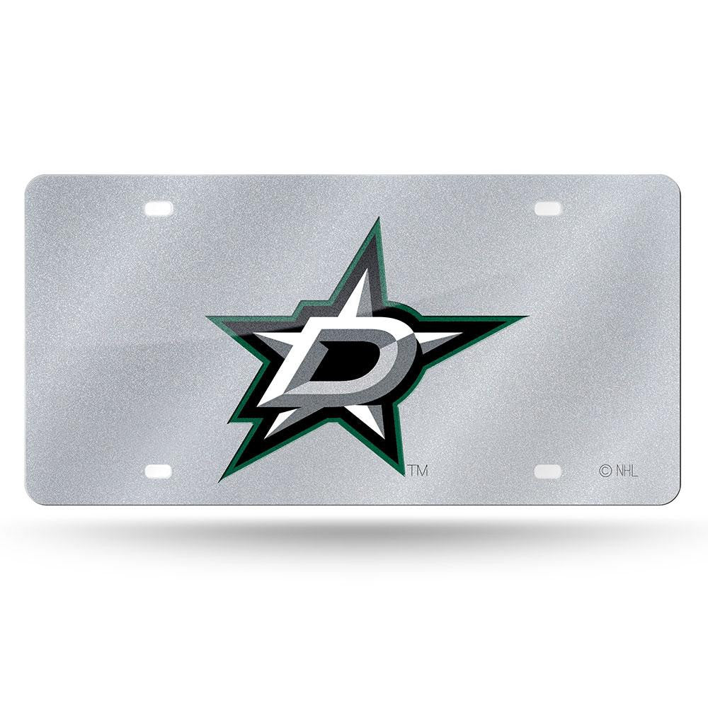 Dallas Stars NHL Bling Laser Cut Plate Cover