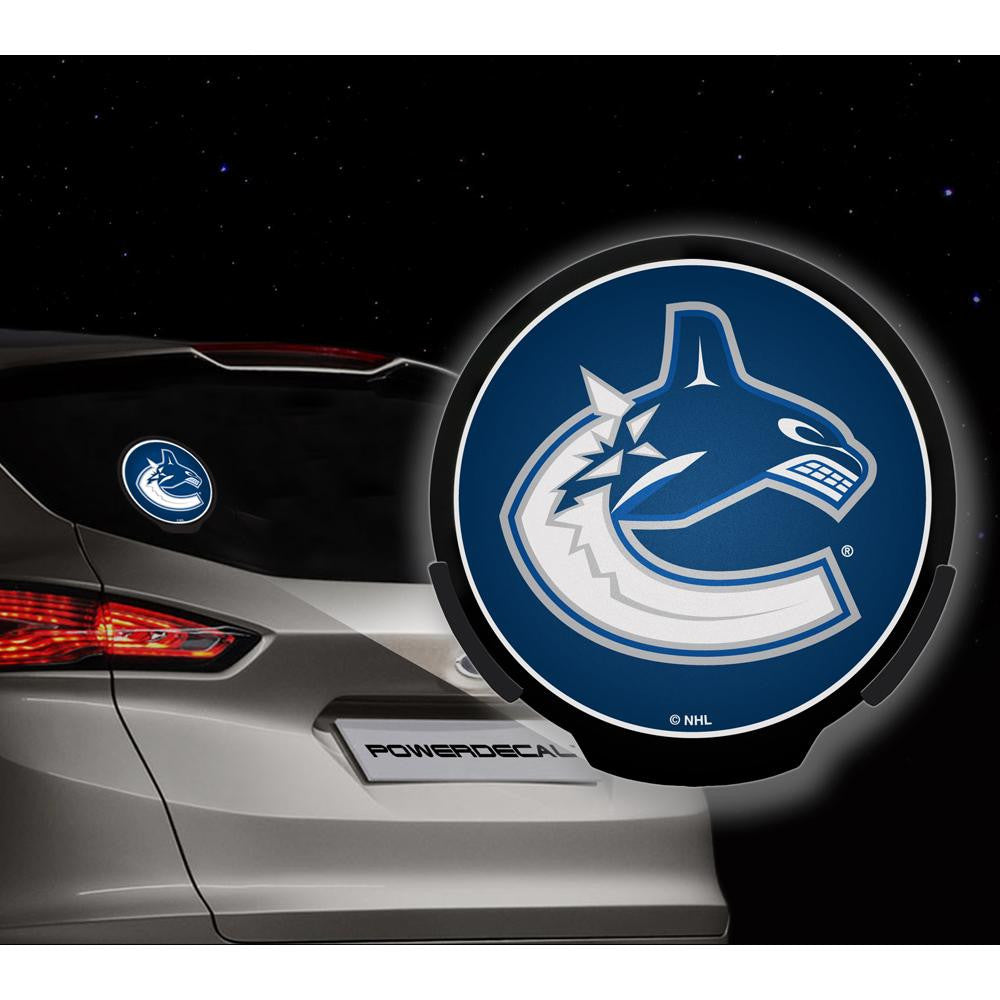 Vancouver Canucks NHL Power Decal