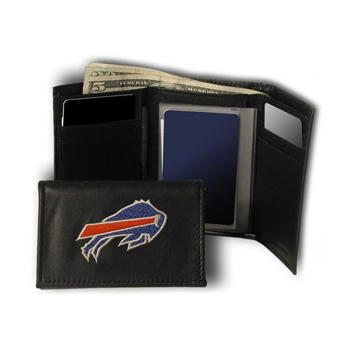 Buffalo Bills NFL Embroidered Trifold Wallet