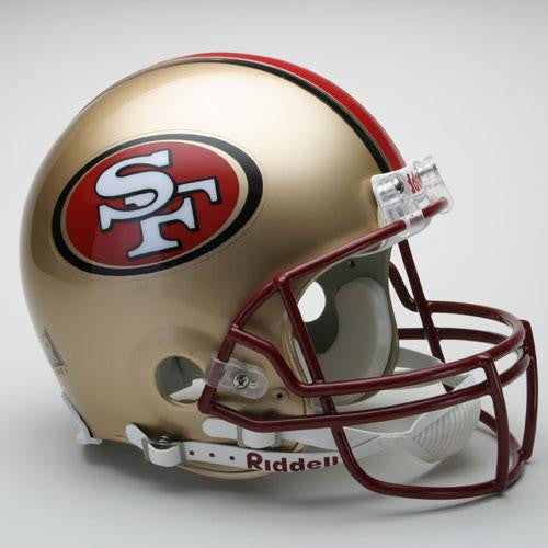 San Francisco 49ers Full Size Authentic ProLine NFL Helmet