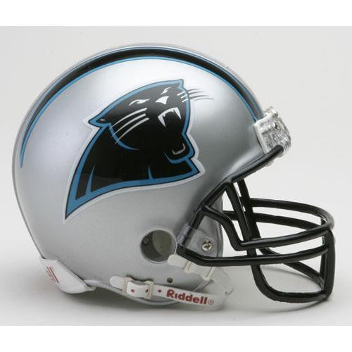 Carolina Panthers Miniature Replica NFL Helmet w/Z2B Mask