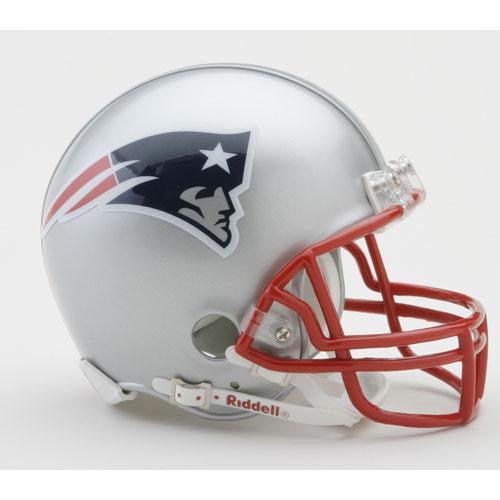 New England Patriots Miniature Replica NFL Helmet w/Z2B Mask