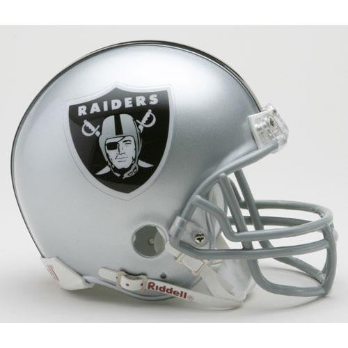 Oakland Raiders Miniature Replica NFL Helmet w/Z2B Mask