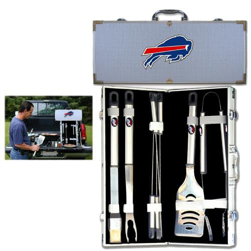 Buffalo Bills NFL 8pc BBQ Tools Set